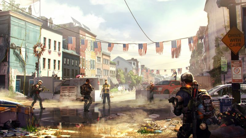 Tom Clancy's The Division 2, E3 2018, artwork, 7K (horizontal)