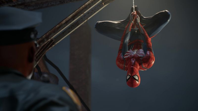 Marvel's Spider-Man, E3 2018, screenshot, 4K (horizontal)