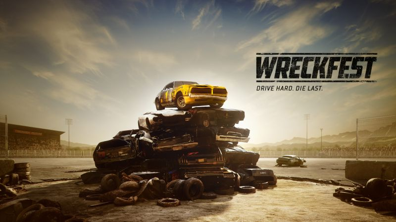 Wreckfest, Next Car Game, E3 2018, poster, 4K (horizontal)