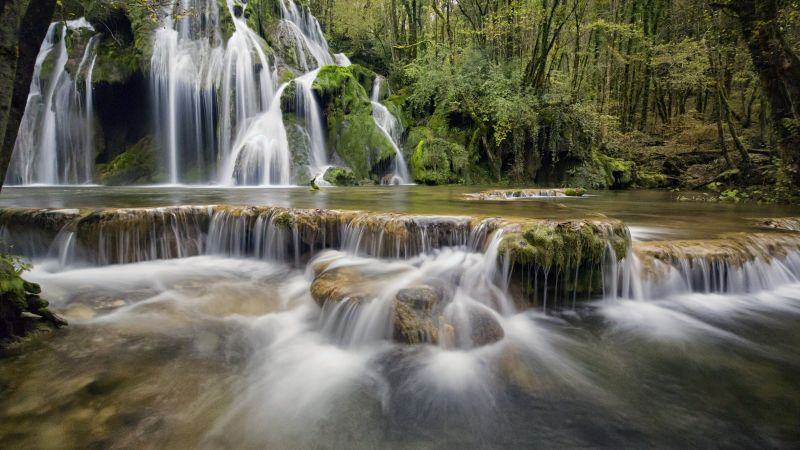 Waterfall, Europe, 4K (horizontal)