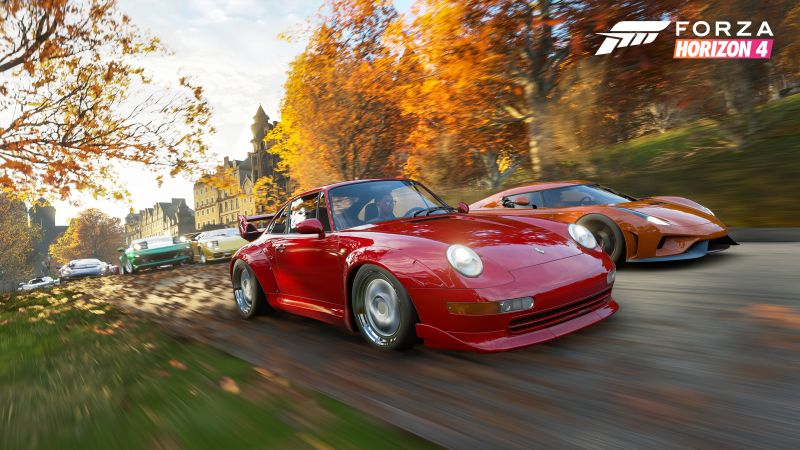 Forza Horizon 4, E3 2018, screenshot, 4K (horizontal)