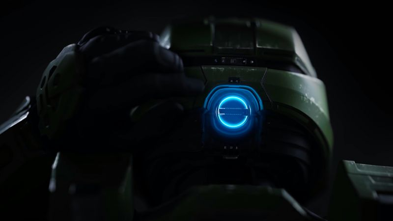 Halo Infinite, artwork, 4K (horizontal)