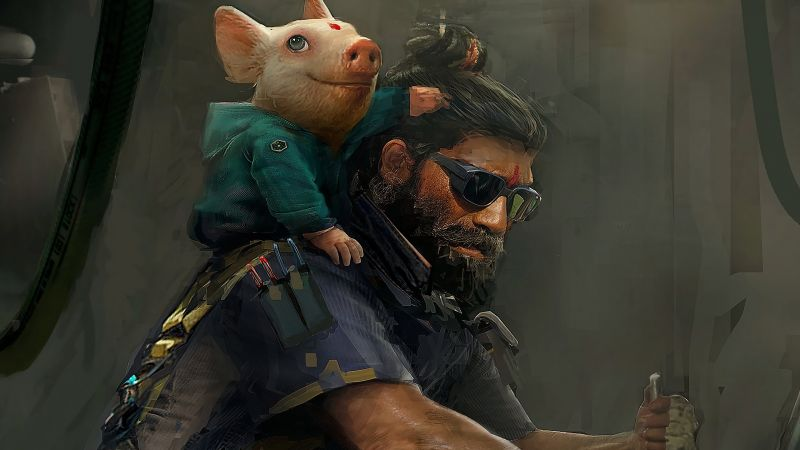 Beyond Good and Evil 2, E3 2018, artwork, poster, 4K (horizontal)
