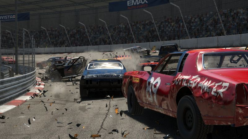 Wreckfest, Next Car Game, E3 2018, screenshot, 4K (horizontal)