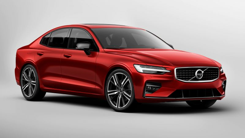 Volvo S60, 2019 Cars, 4K (horizontal)