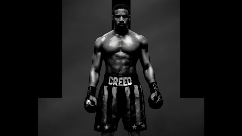 Creed 2, Adonis Johnson, poster, 7K (horizontal)