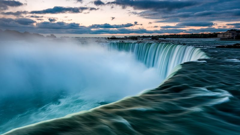 Niagara Falls, Waterfall, 7K (horizontal)
