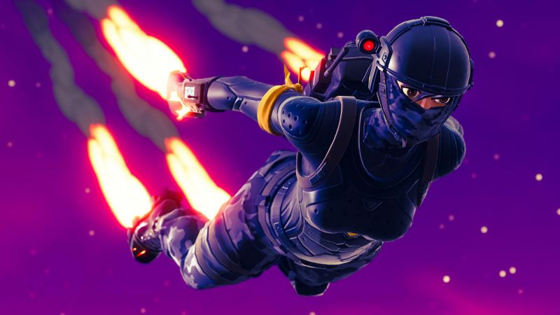 Fortnite, screenshot, 4K (horizontal)