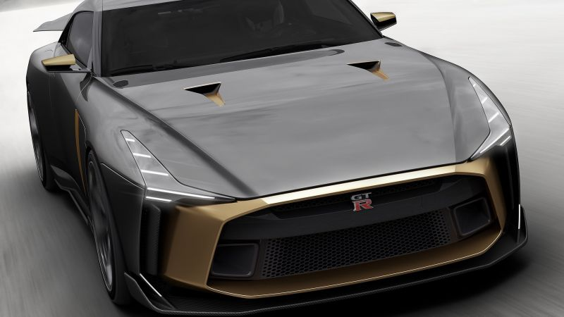 Nissan GT-R50 Italdesign Concept, 2018 Cars (horizontal)