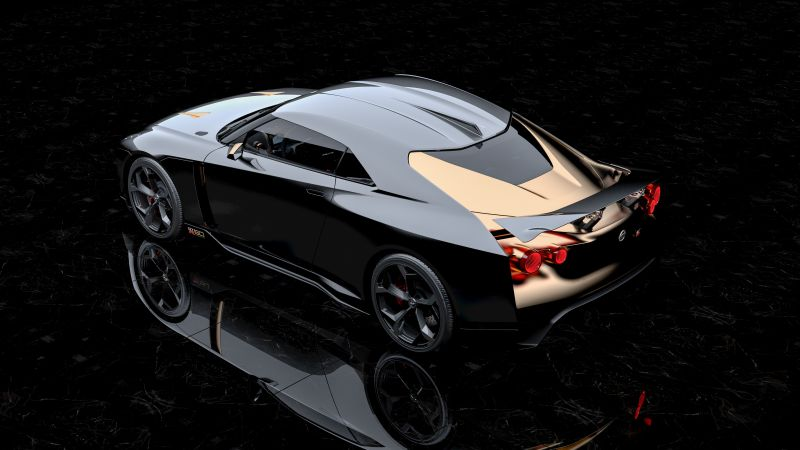 Nissan GT-R50 Italdesign Concept, 2018 Cars, 5K (horizontal)