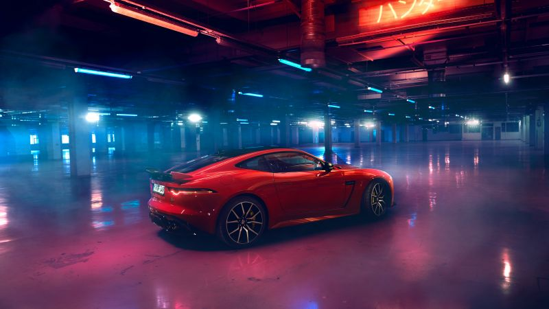 Jaguar F-Type, 2019 Cars, luxury cars, 4K (horizontal)