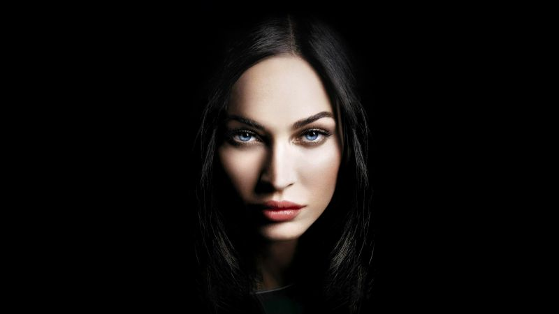 Megan Fox, actress, 4K (horizontal)