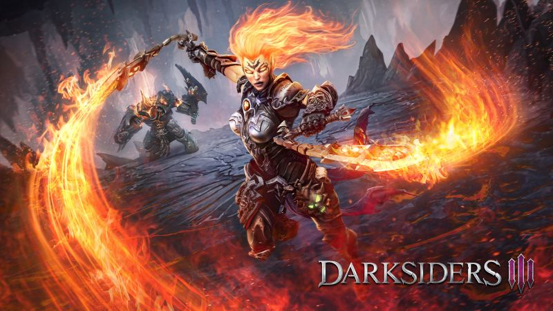 Darksiders III, poster, 4K (horizontal)