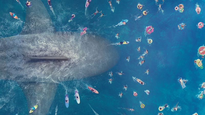 The Meg, poster, 8K (horizontal)
