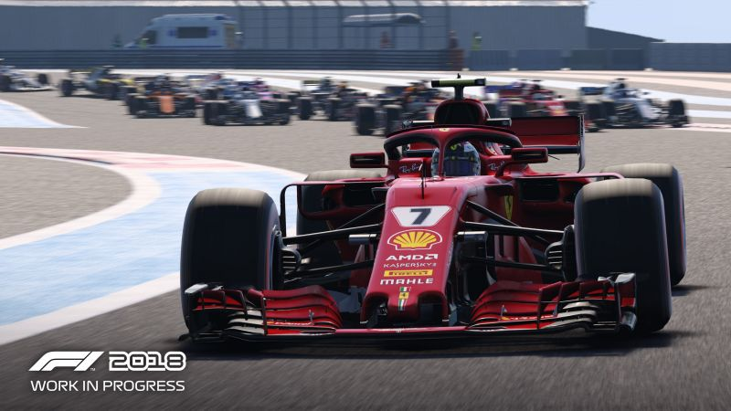 F1 2018, screenshot, 4K (horizontal)