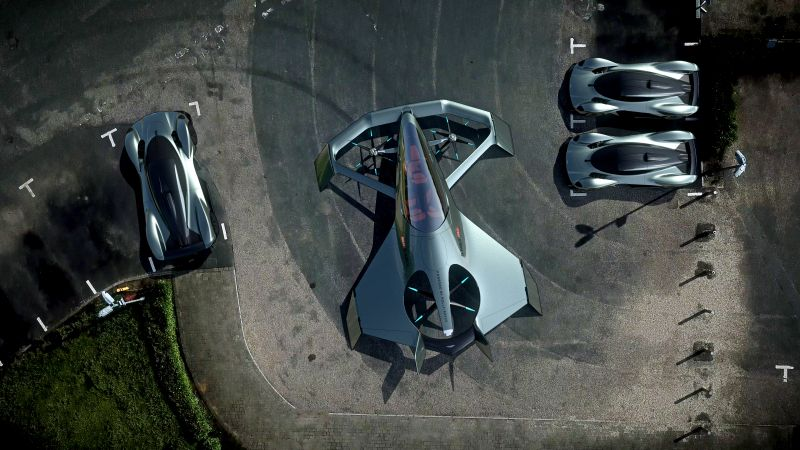 Aston Martin VVC, Flying Taxi, 4K (horizontal)