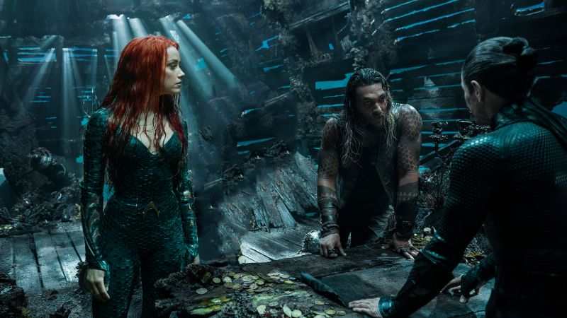 Aquaman, Jason Momoa, Amber Heard, 6K (horizontal)