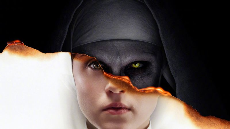 The Nun, poster, 4K (horizontal)