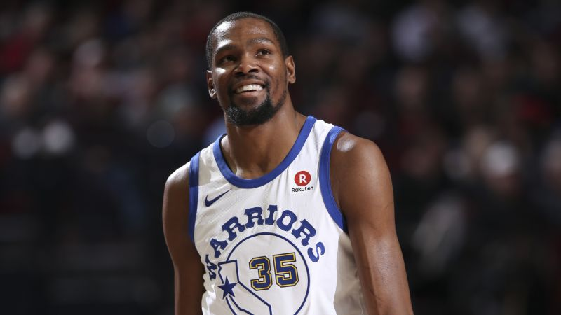 Kevin Durant, Golden State Warriors, Basketball, NBA, 4K (horizontal)