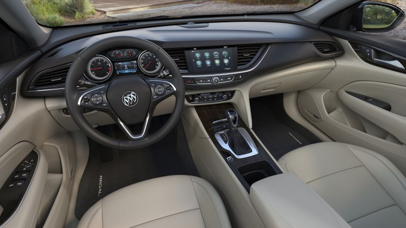 Buick Regal Avenir, 2019 Cars, 4K (horizontal)