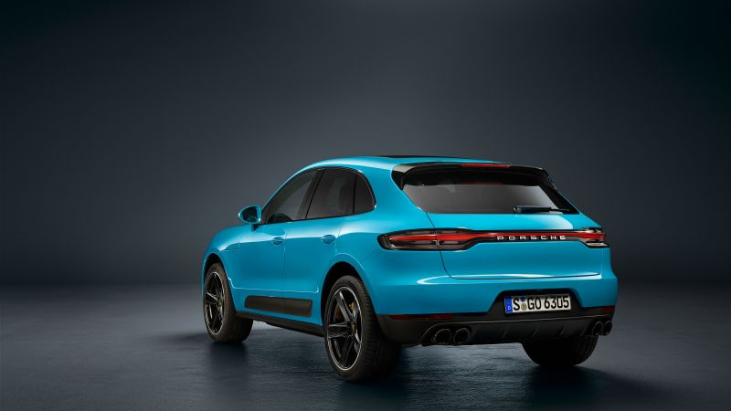 Porsche Macan, 2019 Cars, SUV, crossover, 4K (horizontal)