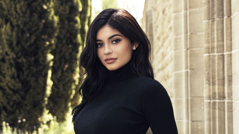 Kylie Jenner, beauty, 4K (horizontal)