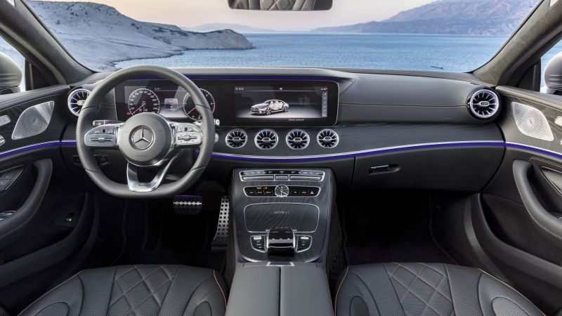 Mercedes-Benz CLS, 2019 Cars, 4K (horizontal)