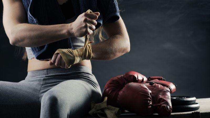 Boxing gloves, boxing, 4K (horizontal)
