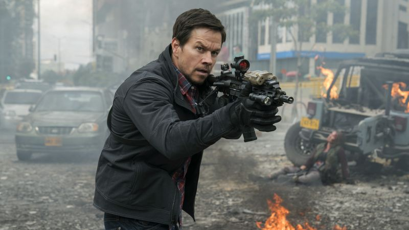 Mile 22, Mark Wahlberg, 4k (horizontal)