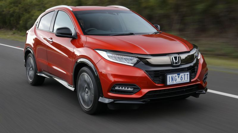 Honda HR-V, 2019 Cars, SUV, crossover, 4K (horizontal)