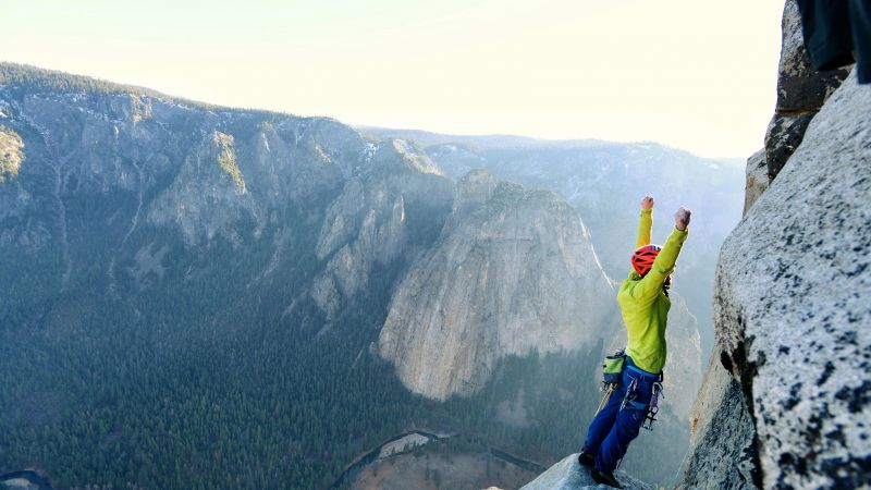 The Dawn Wall, Tommy Caldwell, 4K (horizontal)
