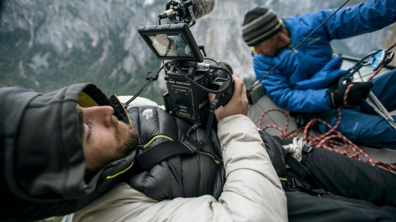 The Dawn Wall, Tommy Caldwell, Kevin Jorgeson, 4K (horizontal)