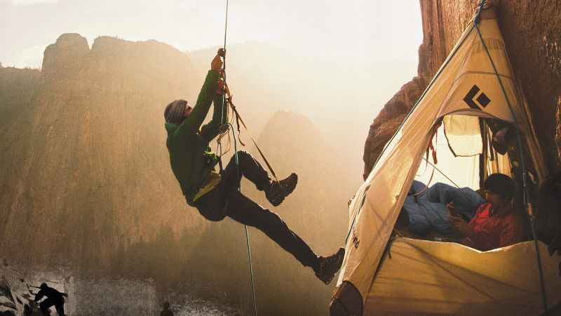 The Dawn Wall, Tommy Caldwell, poster (horizontal)