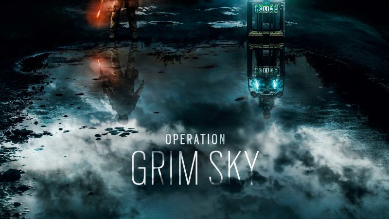 Operation Grim Sky, Gamescom 2018, Tom Clancy's Rainbow Six Siege, poster, artwork, 5K (horizontal)
