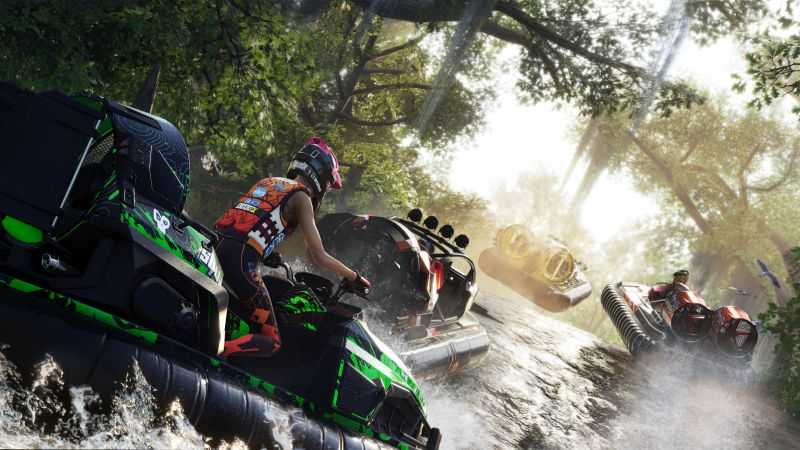 Gator Rush, The Crew 2, Gamescom 2018, screenshot, 4K (horizontal)