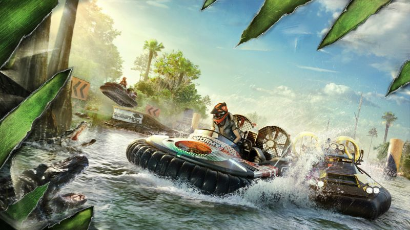 Gator Rush, The Crew 2, Gamescom 2018, artwork, 4K (horizontal)