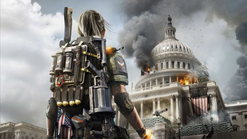 Tom Clancy's The Division 2, Gamescom 2018, poster, 5K (horizontal)