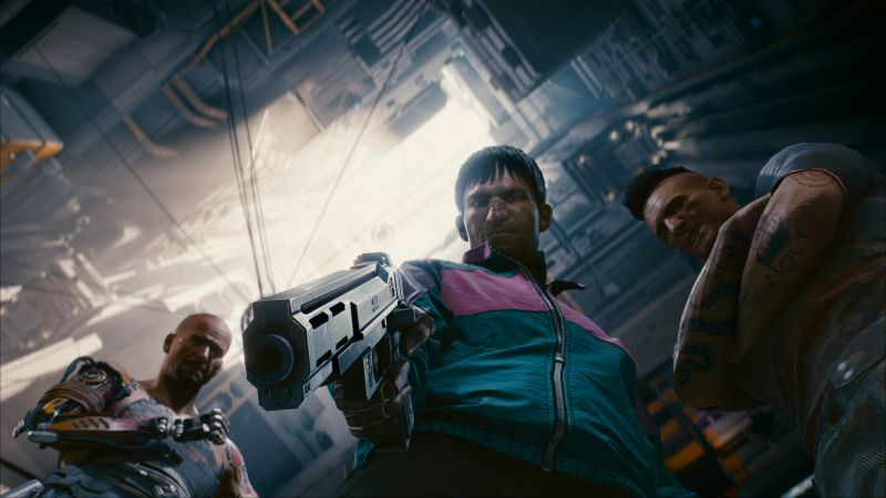 Cyberpunk 2077, Gamescom 2018, screenshot, 4K (horizontal)