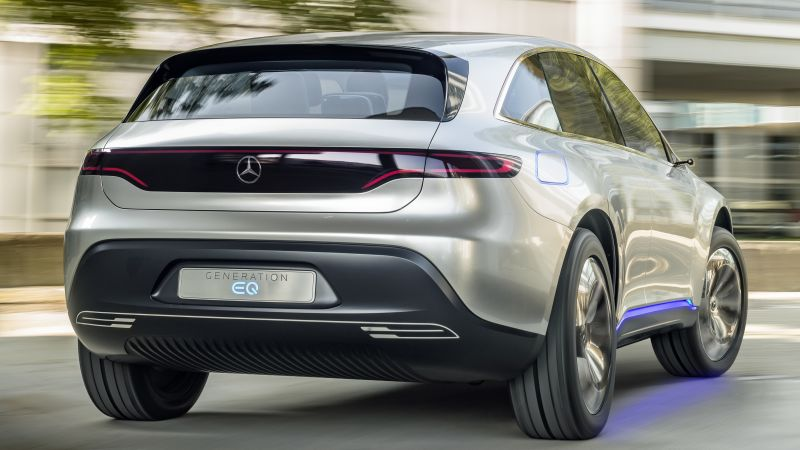 Mercedes-Benz EQC, SUV, 2019 Cars, electric cars, 5K (horizontal)