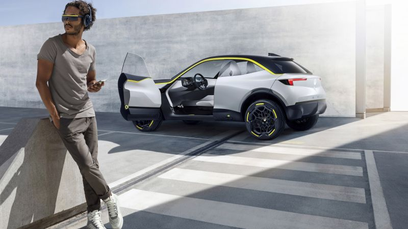 Opel GT X Experimental Concept, 2018 Cars, crossover, 8K (horizontal)