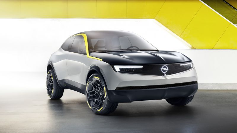 Opel GT X Experimental Concept, 2018 Cars, crossover, 5K (horizontal)