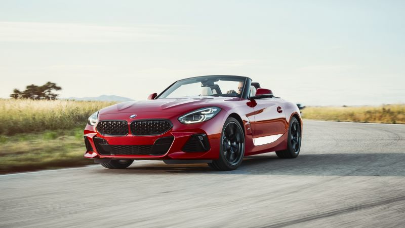 BMW Z4 M40i First Edition, 2019 Cars, sports car, 4K (horizontal)