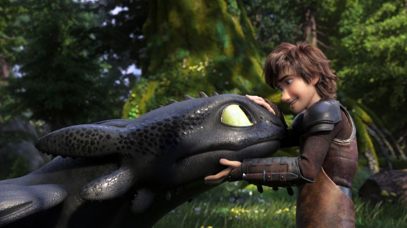 How to Train Your Dragon: The Hidden World, 4K (horizontal)
