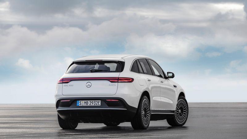 Mercedes-Benz EQC, SUV, 2020 Cars, electric cars, 8K (horizontal)