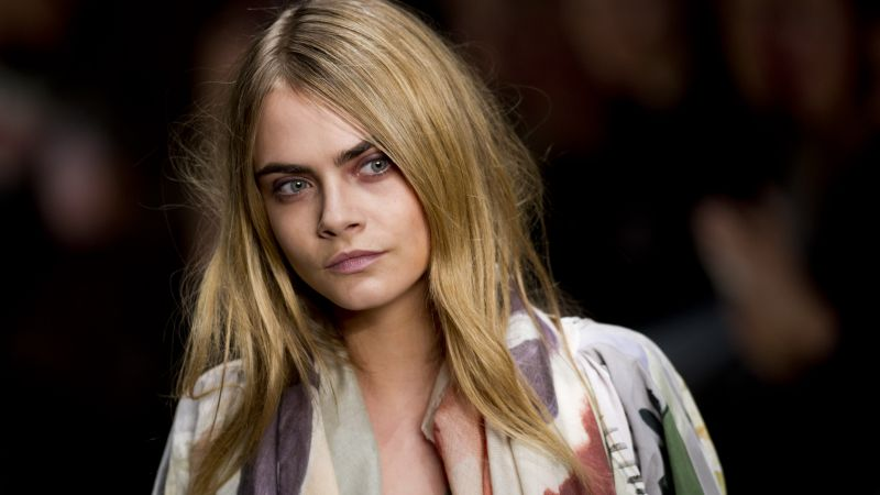 Cara Delevingne, Top Fashion Models, 4K (horizontal)