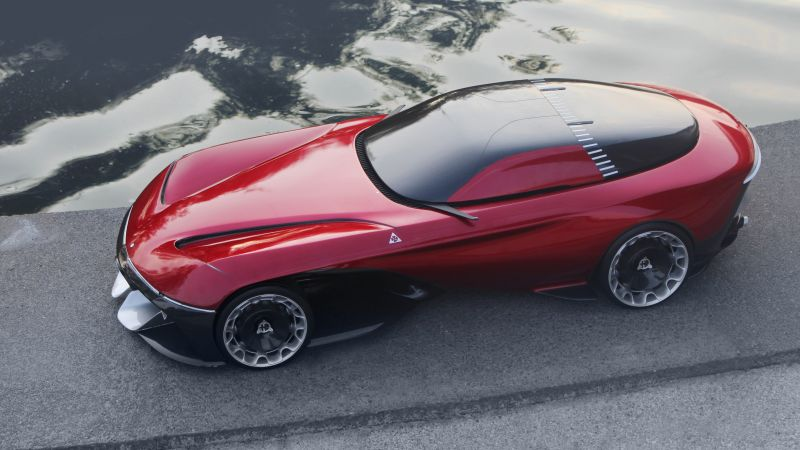 Alfa Milano 2077, electric cars, 4K (horizontal)
