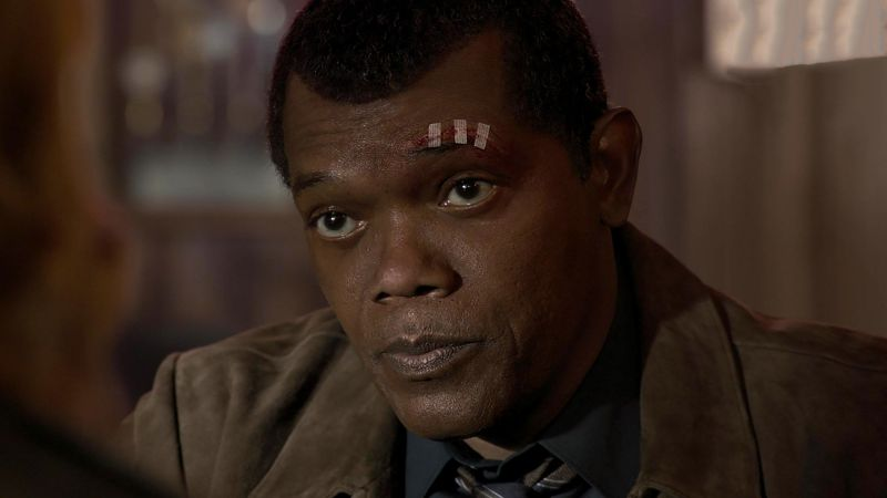 Captain Marvel, Nick Fury, HD (horizontal)