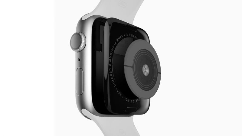 Apple Watch Series 4, sensor, Apple September 2018 Event (horizontal)
