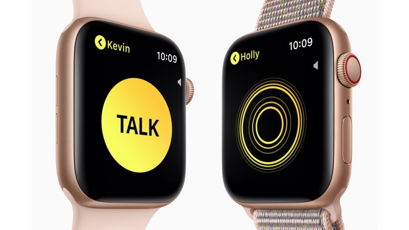 Apple Watch Series 4, Walkie-Talkie, Apple September 2018 Event (horizontal)