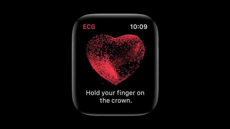 Apple Watch Series 4, ECG, Apple September 2018 Event (horizontal)